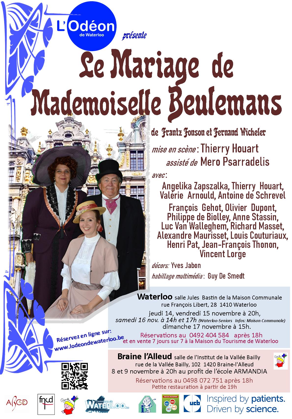 Waterloo Info parle du «Mariage de Mademoiselle Beulemans»
